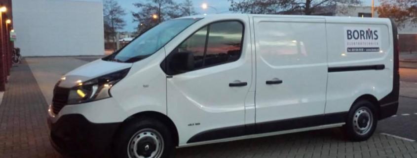 Borms Elektrotechniek heeft een nieuwe bedrijfsbus!